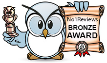 No1Reviews.com's Bronze Award