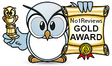 No1Reviews.com's Gold Award